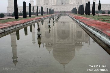 Taj Mahal Reflections