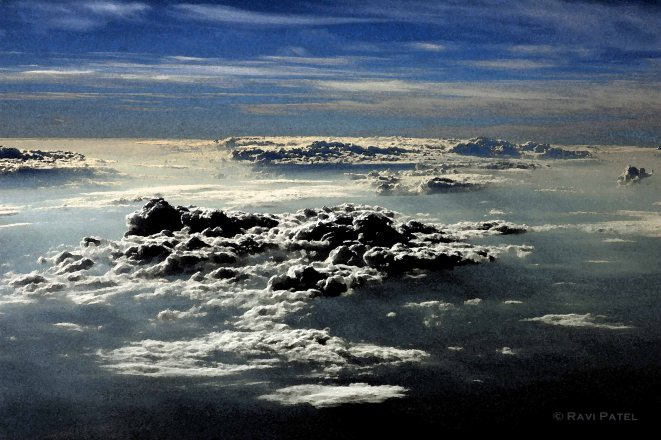 An Artistic Rendering of Clouds