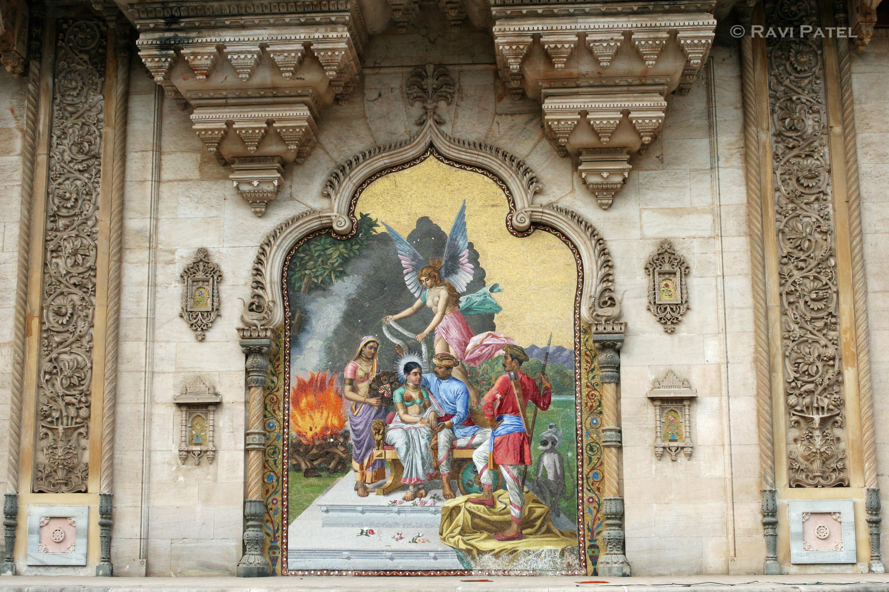 Wall Decor In Vadodara : Wall murals photos by ravi