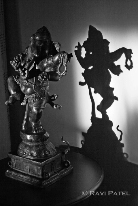 A Statue and its Shadow
