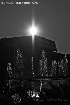 Sun-lighted Fountains