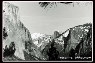 Yosemite Tunnel View in Winter