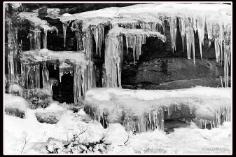 Icicles in Yosemite