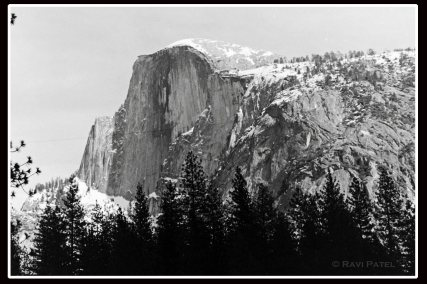 Half Dome Exposed
