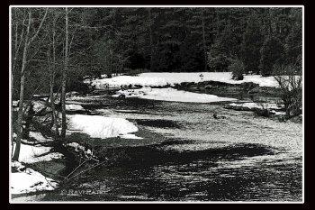 A River Runs Through Snowbanks