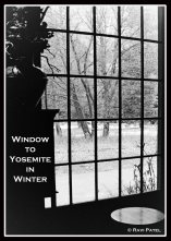 Window to Yosemite in Winter