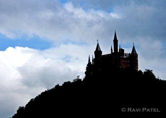 Burg Hohenzollern Silhouette