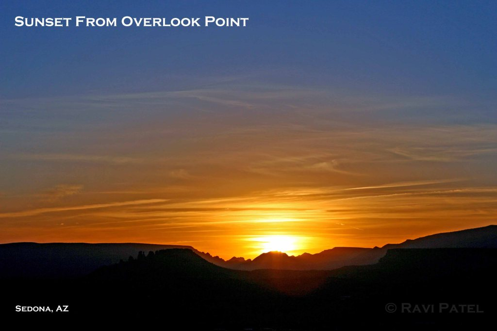Overlook Point Sunset