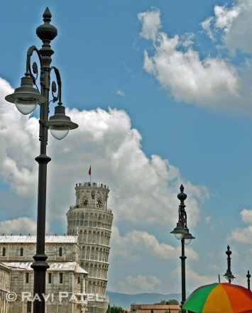 Leaning Tower of Pisa - A Different View