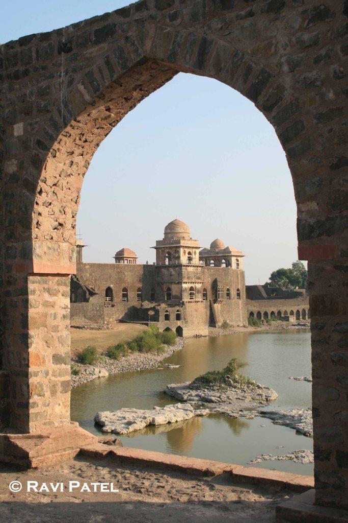 Mandu Palace Framed