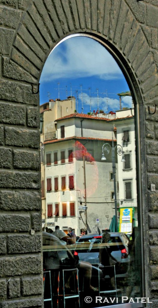 Florence Window Reflections