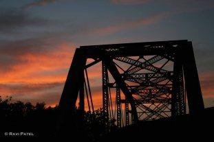 A Bridge Silhouette