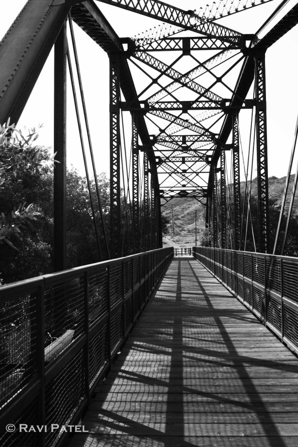 Railroad Bridge Shadows
