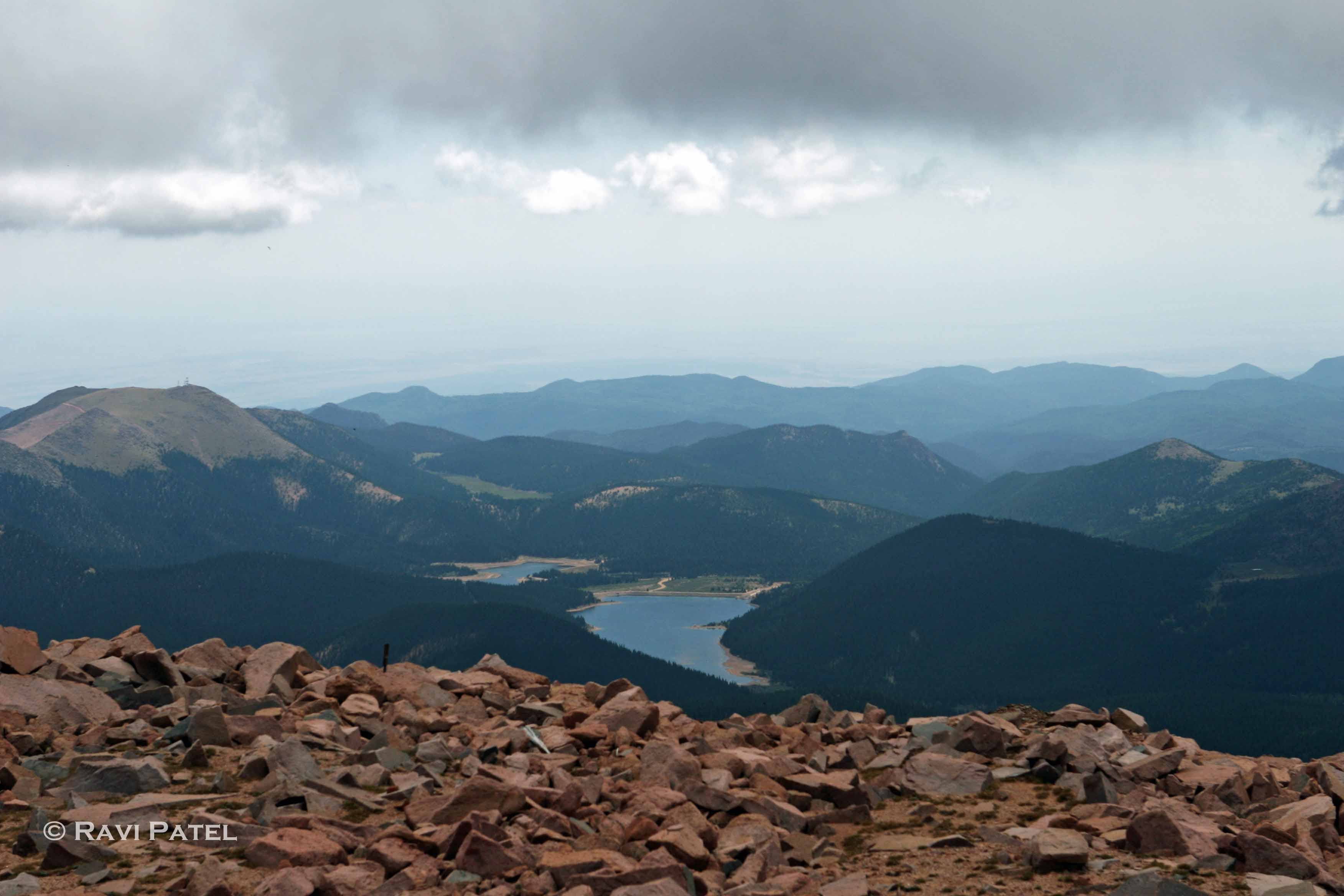 View from Pikes Peak | Photos by Ravi