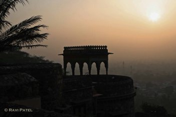 Neemrana Sunset