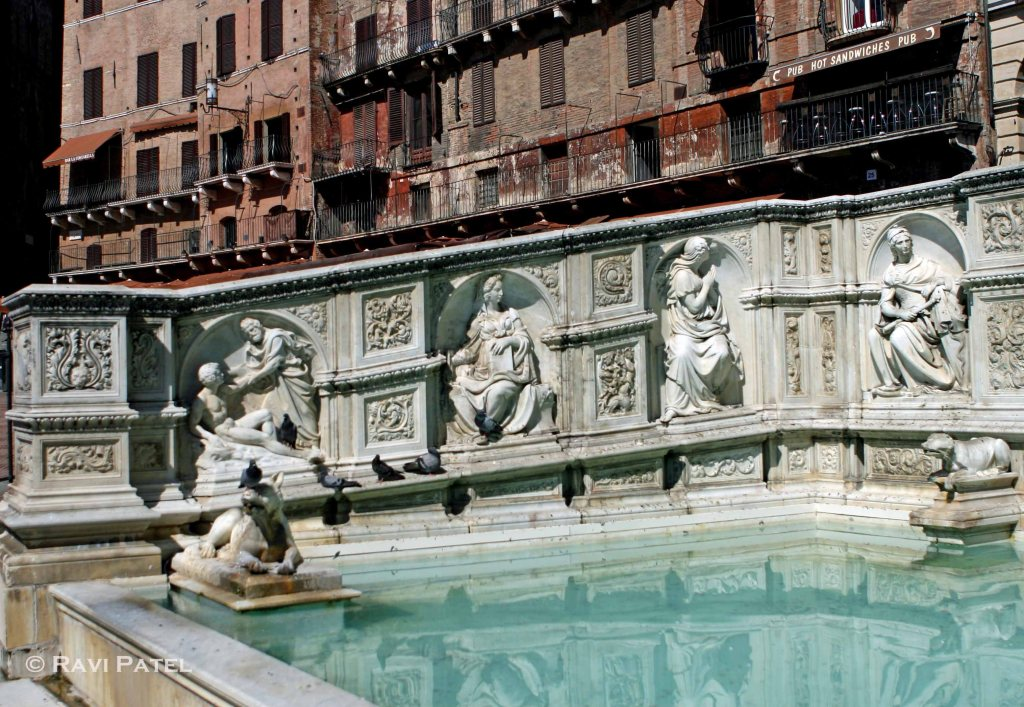 Siena Pool Reflections