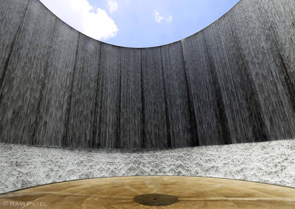 A Waterwall in Houston