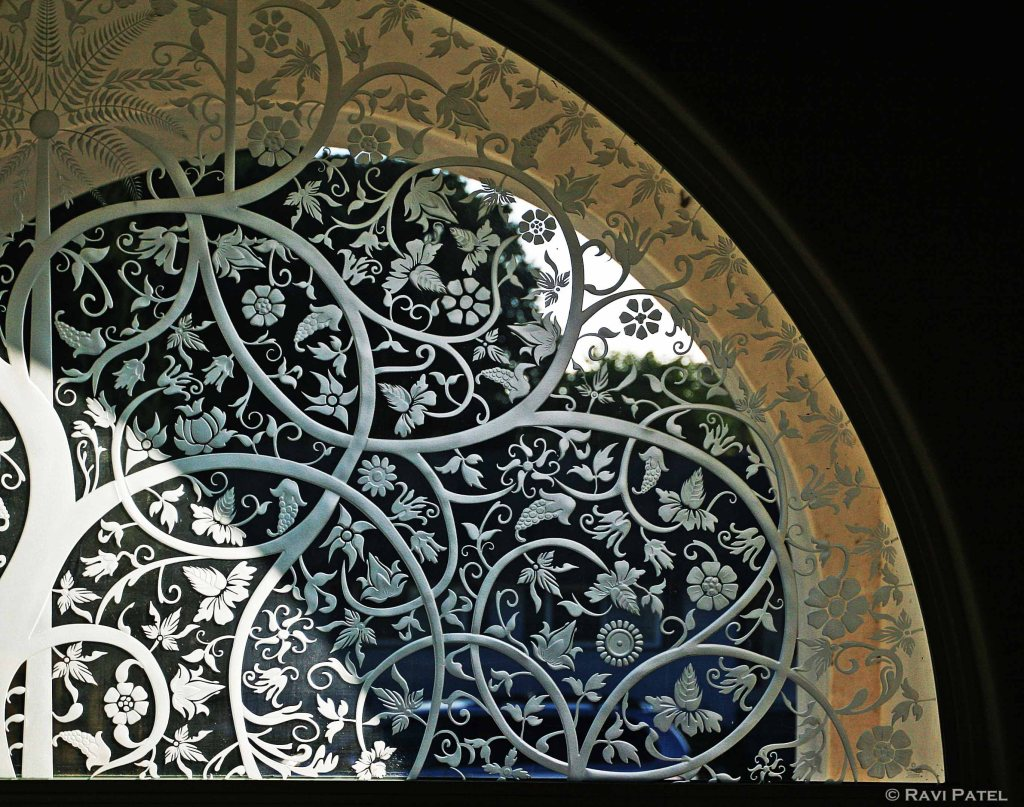 Intricate Designs in Glass