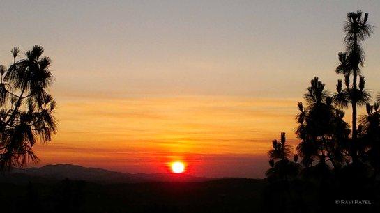 Sunrise in Santa Clarita