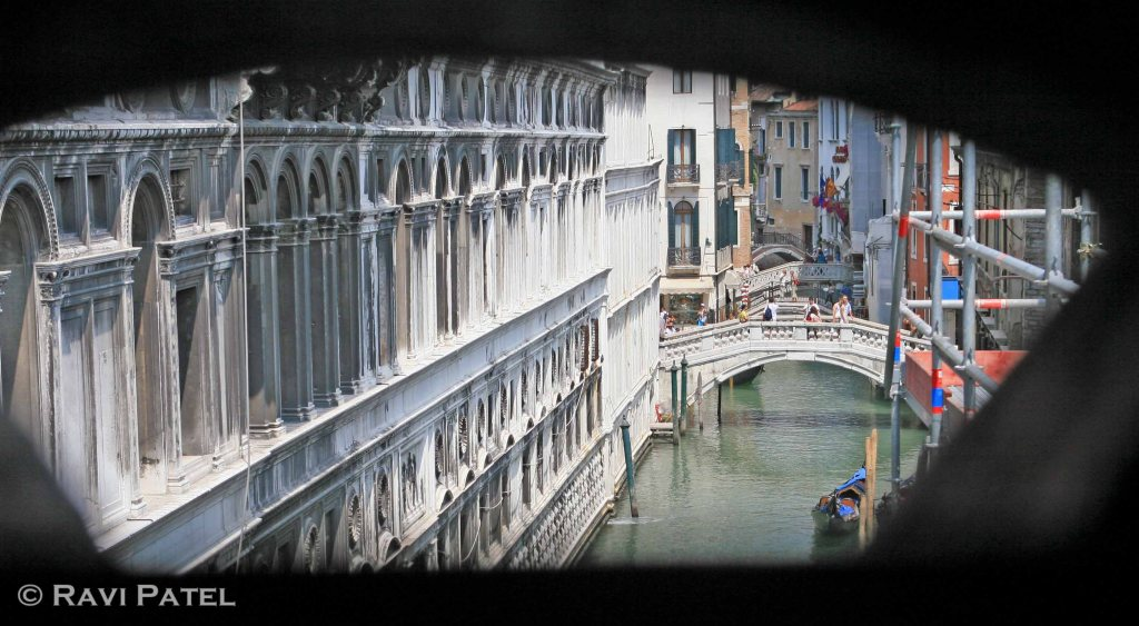 View from Bridge of Sighs