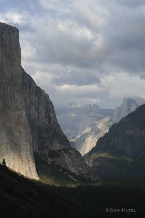 A Majestic Valley in Yosemite
