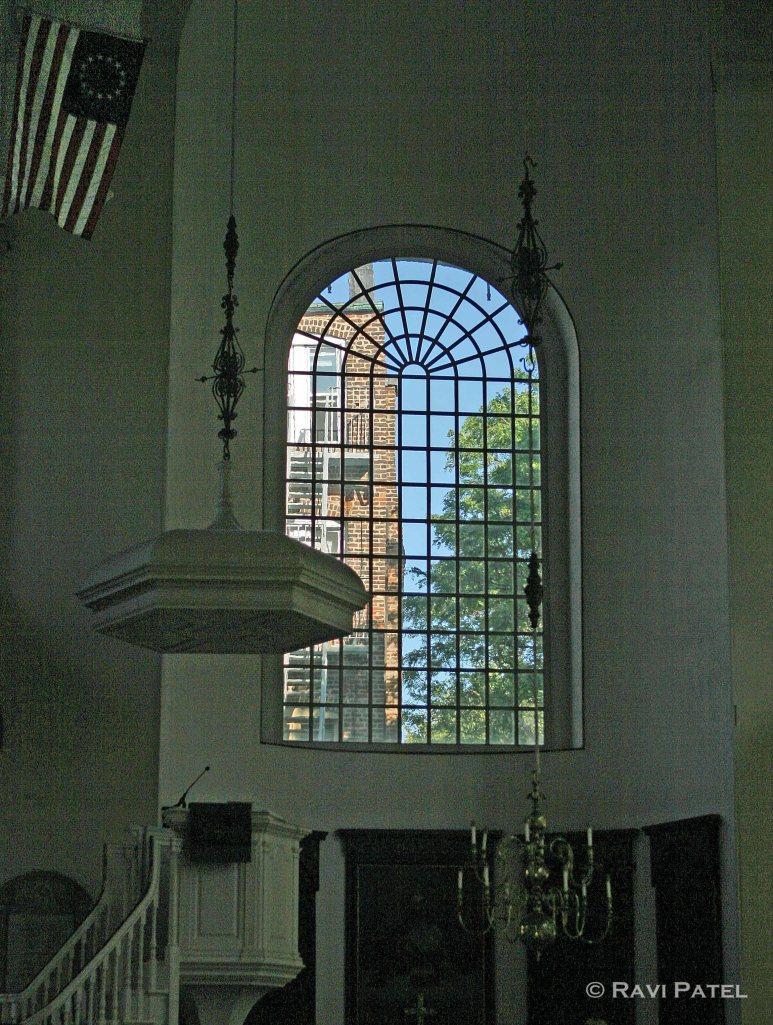 Boston Church Window