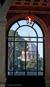 Lighting up the Basilica