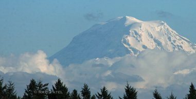 Rainier Mountain Cloud Formations