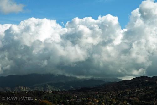 Post Rain Clouds