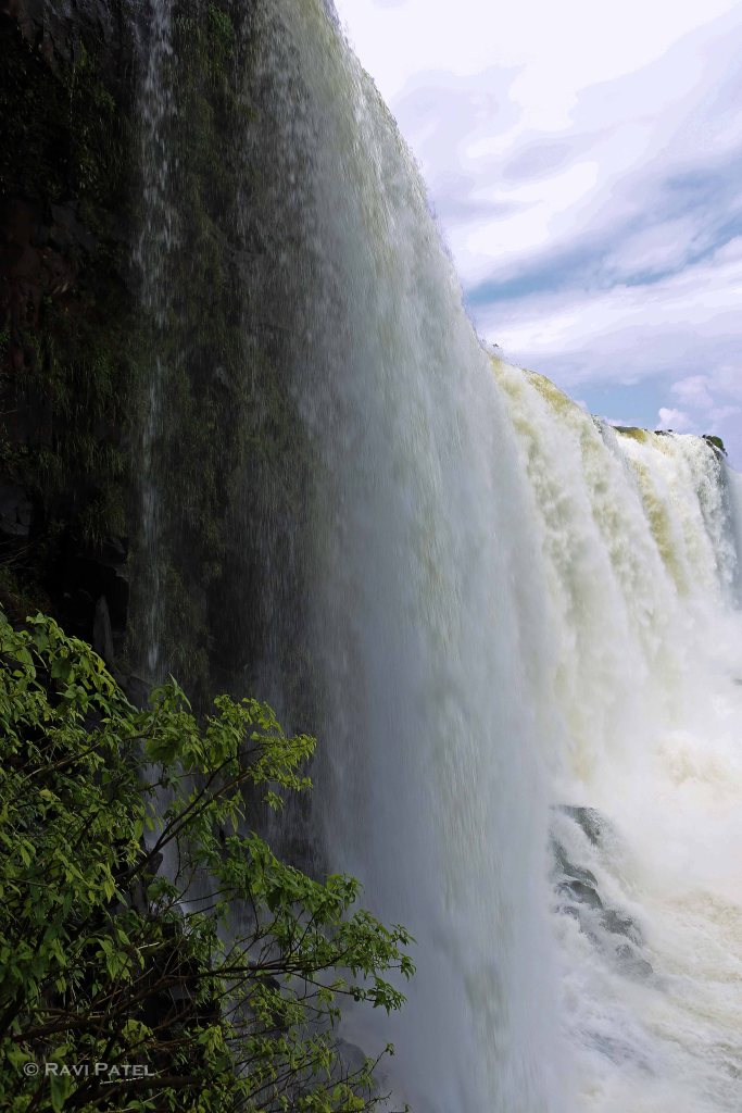 Iguazu Falls - A Curtain of Water