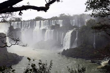 Iguazu Falls - A Framed View