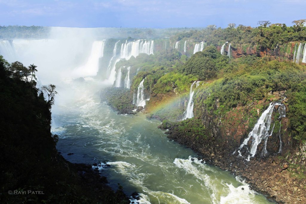 Iguazu Falls - Feeding the Iguazu River