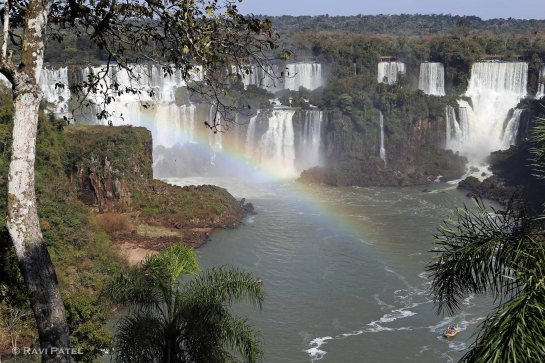 Iguazu Falls - First Glimpse