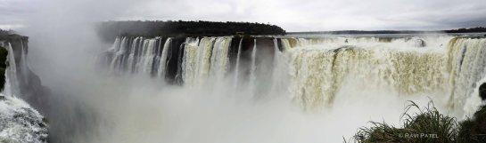Iguazu Falls Panorama Argentina