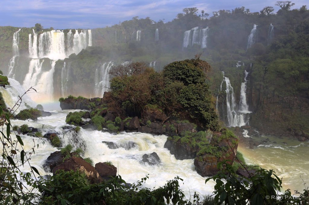 Iguazu Falls - White Water