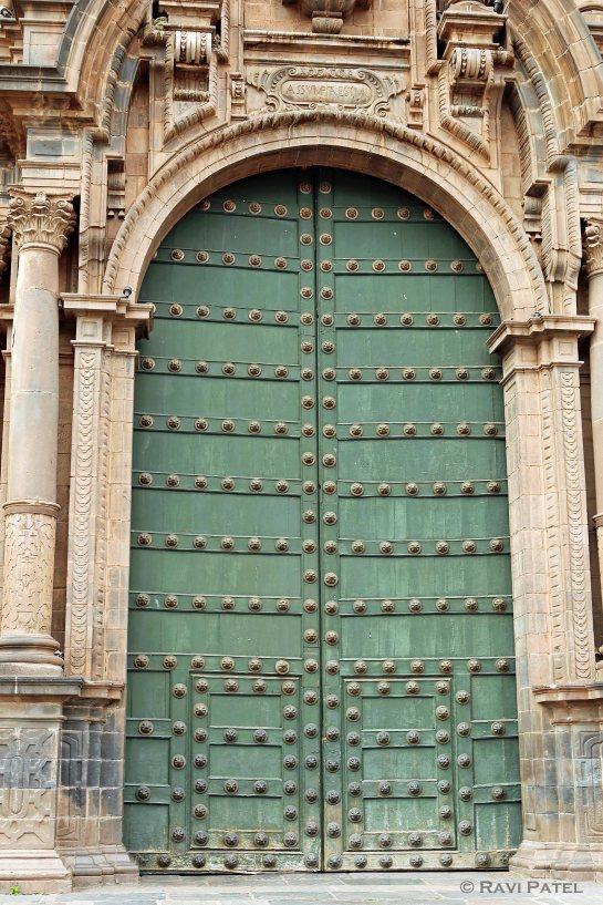 Cusco Church Door