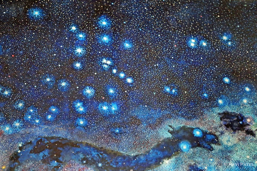 Inca Version of Milky Way Constellations, Qorikancha