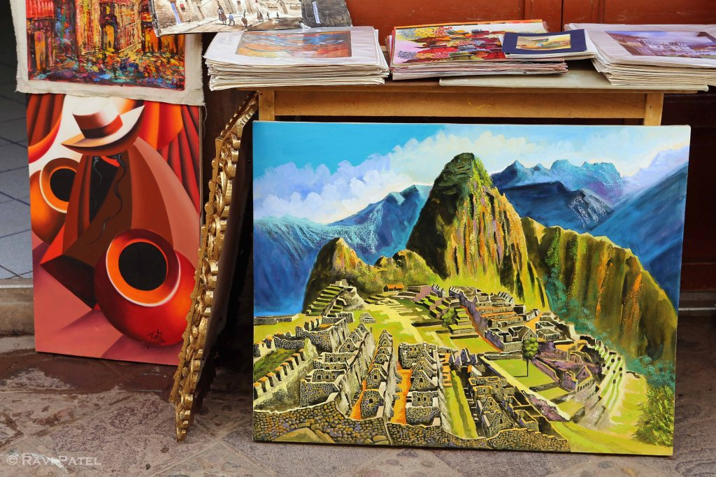 Machu Picchu - Artistic Depiction
