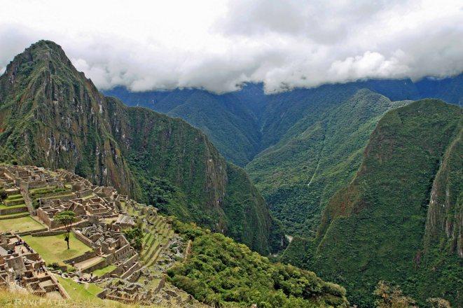 Machu Picchu - Valley View