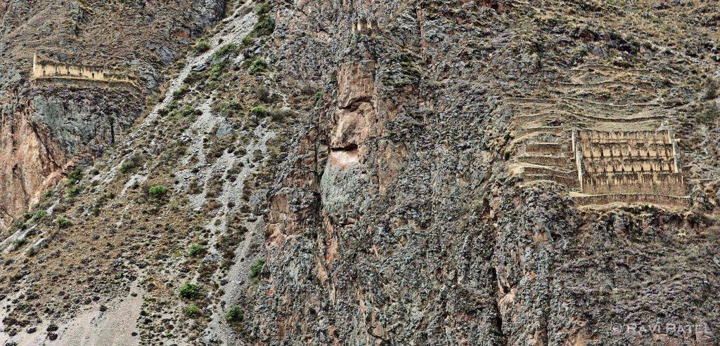 Peru - Ollantaytambo Closeup
