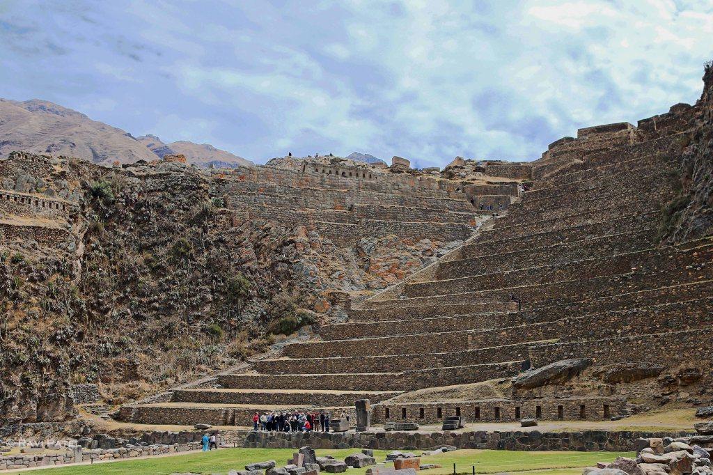 Peru - Ollantaytambo Fortress Ruins