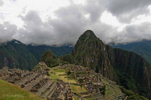 Machu Picchu - Dark Clouds