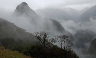 Machu Picchu - Early Morning Cloud Cover