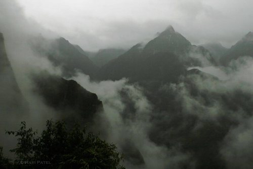 Machu Picchu - Morning Mist