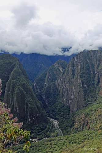 Machu Picchu - Mountains and Valleys