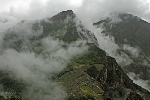 Machu Picchu - Through the Clouds on Wayna Picchu