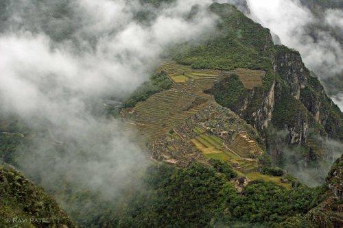 Machu Picchu - View from Wayna Picchu