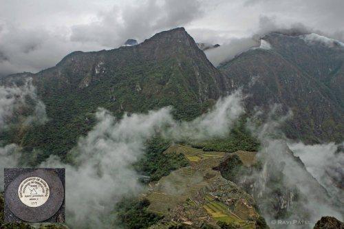 Machu Picchu - Wayna Picchu Marker
