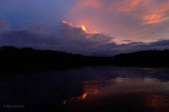 Ecuador Amazon - Spectacular Sunset Refelctions
