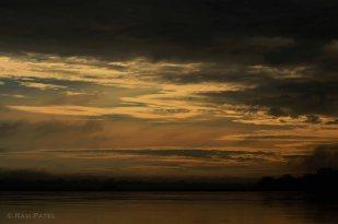 Ecuador Amazon - Sunset Sky